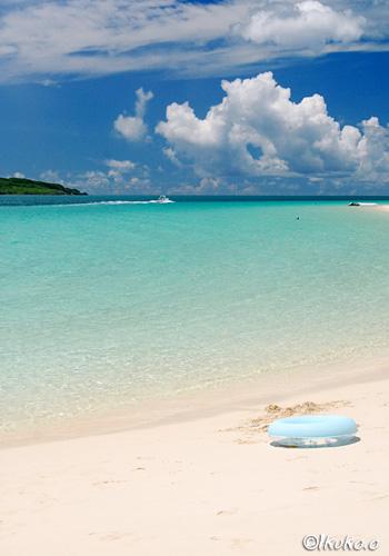 昼下がりの前浜ビーチ浜