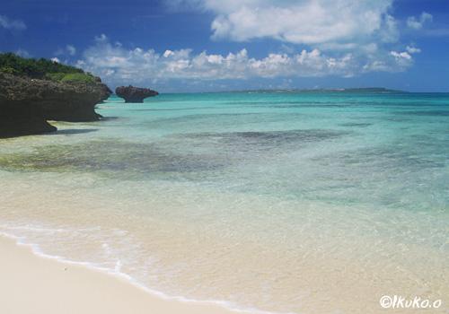 静かなプライベートビーチ