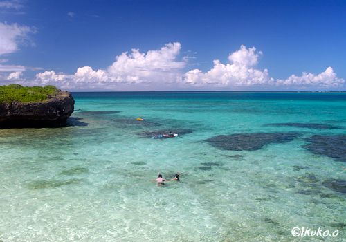 池間島のフナクスビーチ
