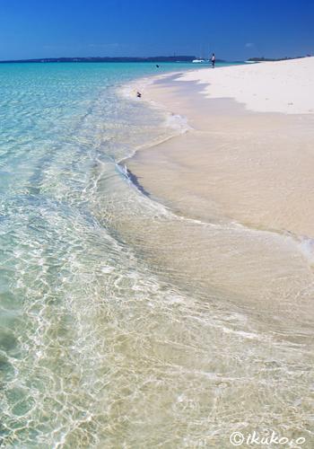 美しい波紋