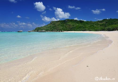 ビーチと青い海