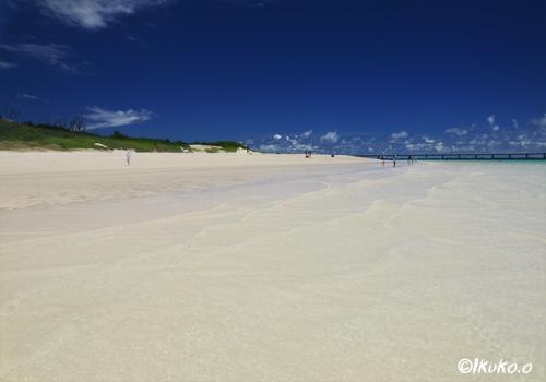 大潮の前浜ビーチ