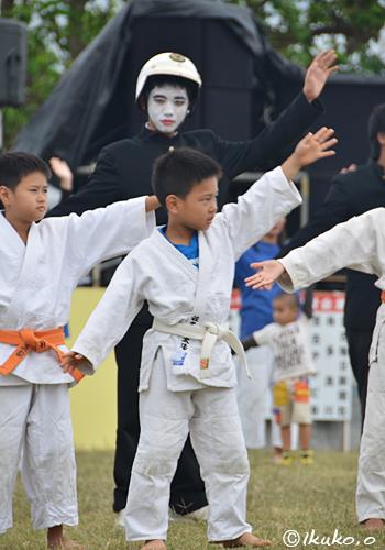 柔道クラブの子供たち