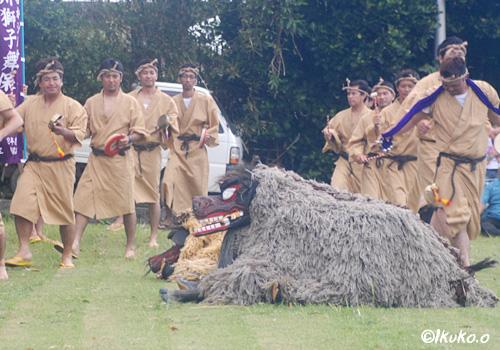 獅子舞の始まり