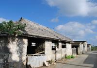 古い集落と民家の風景