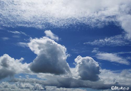 たくさんの雲
