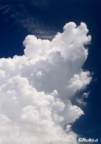 そびえたつ入道雲