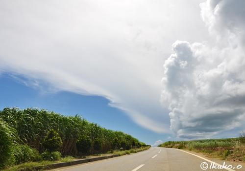 幻想的な雲の風景