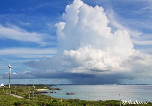 巨大な入道雲