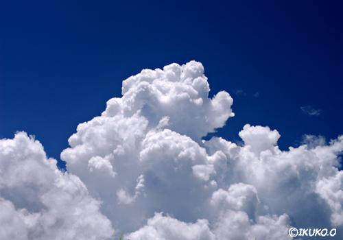 美しい入道雲
