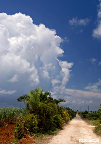 押し寄せる雲の壁