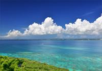 伊良部島の青い海