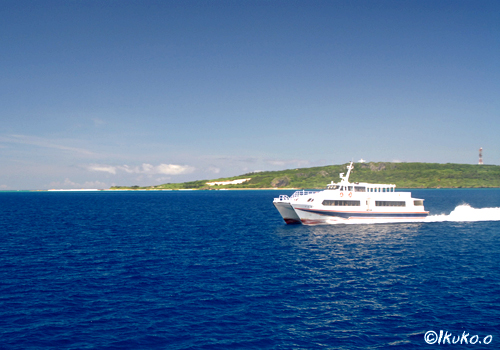 伊良部航路の高速船