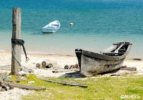 サバニと海