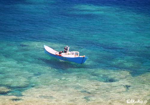 追い込み漁のボートト