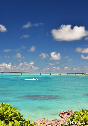 空色の海とボート