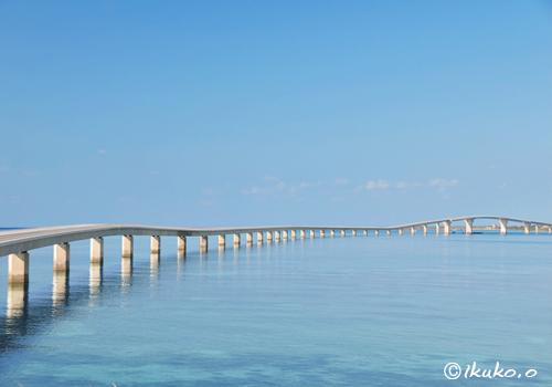 静かな海と伊良部大橋