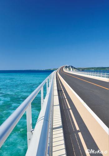 海を渡る伊良部大橋