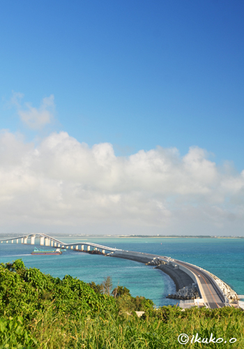 伊良部大橋-伊良部島から-