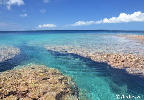 サバ沖の海
