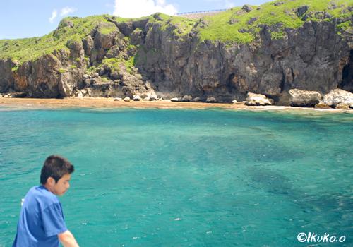 白鳥崎の海