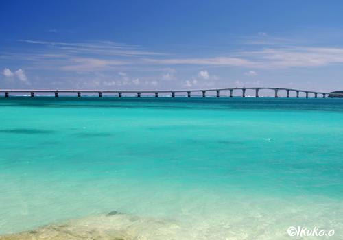 前浜港から見える橋