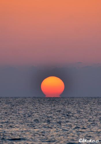 着水した太陽