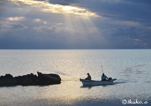 幻想的な海の風景